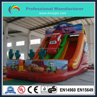 2016 new design inflatable car slides for sale