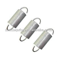 0.4 x 3mm 0.4mm stainless steel Tension spring with a hook extension spring length 10mm to 60mm