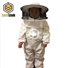 Beekeeping equipment from china safety protection unisex cotton beekeeping suit for child