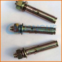 Standard size newly design expansion anchor titanium bolt