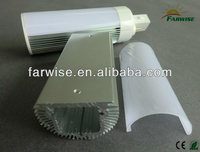 G24 LED Al+PC Housing and fixtures for LED Lamp