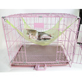 Summer Pet Cage Hammock Under Chair Breathable Air Mesh Pet Hammock Cat Bed Hammock