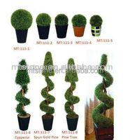 artificial grass ball plant