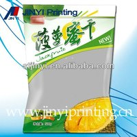Custom design dried fruit packaging film bag
