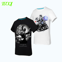 100%Cotton HIgh Quality Top Sales 180Gsm Black/White Color Round Neck Latest Pattern T Shirt
