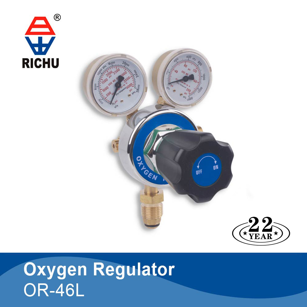 American style oxygen regulator