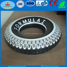 Promotion Inflatable Tire Swim Ring, Display Inflatable Tyre Float Ring