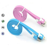 New product 2.0 noodle flat micro usb cable