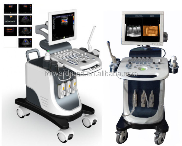 Economical color doppler ultrasound price with 3 probes