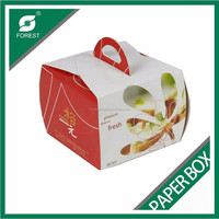 FASHION CHEAPER LOVELY PAPER CAKE BOX FOR WEDDING WHOLESALE