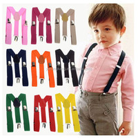 Factory direct sale fashion kids suspenders children suspenders