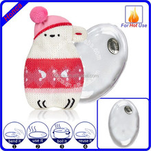 Hot Buddies Knitted Cover Gel Hand Warmer