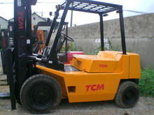 Best price Japan Used 3 5 ton forklift FD50 TCM forlift 3 ton 10 ton 15 ton for sale now