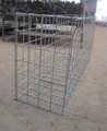 Square Hole Welded Stone Baskets Welded Mesh Baskets connected by spiral wire or C-nail