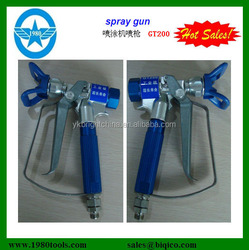 hvlp gravity gun voylet spray gun for car and wall paint air spray gun GT200