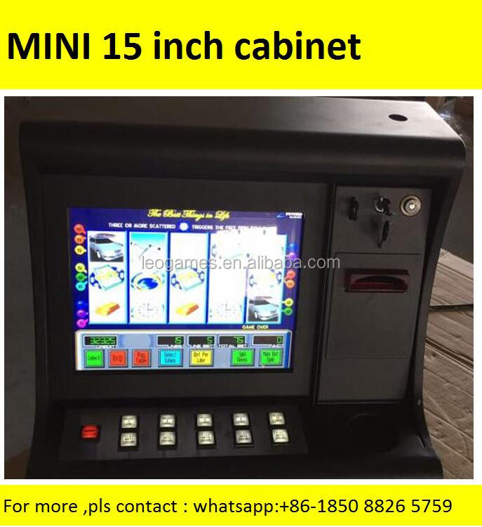 2017 MINI Williams Slant Top Slot Machine top table top slot machines Cheap Gaming Cabinets for Casino