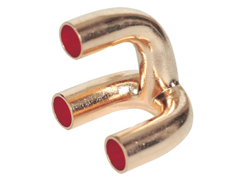 OEM precision machining brass flange fittings