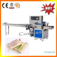 Horizontal Wrapping Machine For Egg Roll