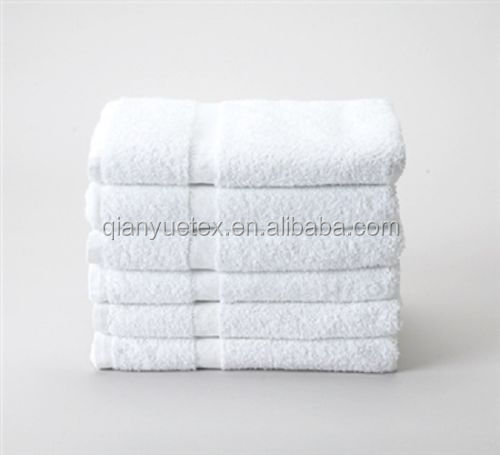 Wholesale high quality white cotton hotel towel