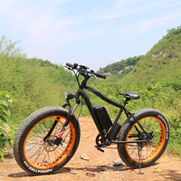 2016 fat tire long range beach cruiser electric bicycle