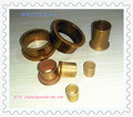 Sintered bronze powder metallurgy oil bearing and flange bushings