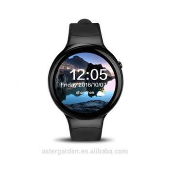 I4 smart watch 1G + 16G thin round screen 3G card sleep Wifi heart rate GPS positioning Stocks Pay