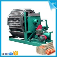 Waste Paper Recycling Samll Paper Machine Making Egg Tray With Video
