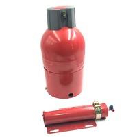 2KG automatic dry powder fire extinguisher CE ISO9001 approved fire detector for engines