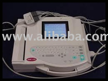 GE Marquette MAC 1200 Interpretive EKG ECG Machine