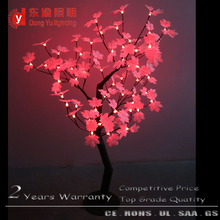 Outdoor or indoor waterproof project decorative LED change color maple tree light