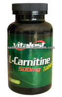 Vitalest L-Carnitine 500mg NATURAL HERBAL SPORTS HEALTH SUPPLEMENT
