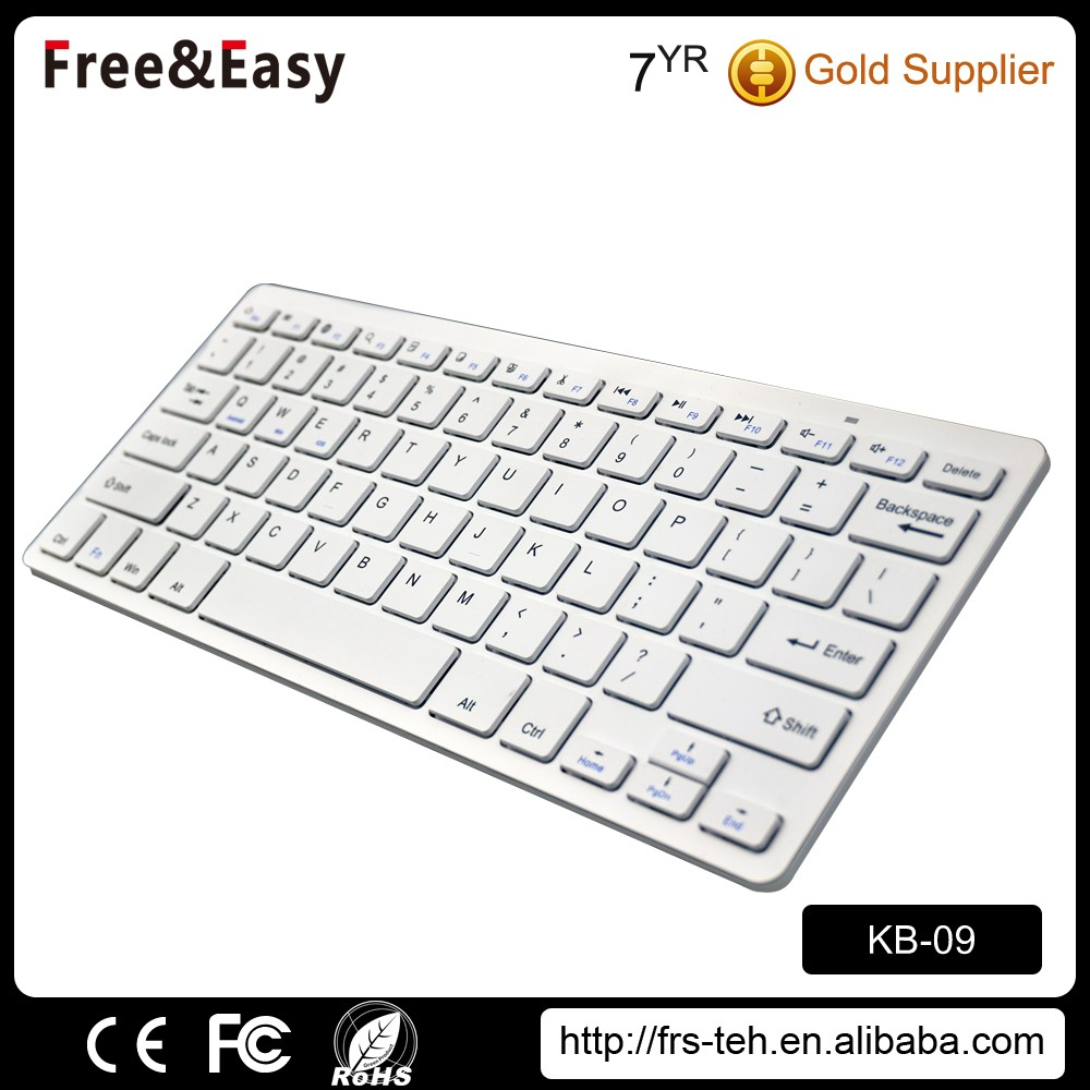Mini aluminum smart bluetooth small usb keyboard