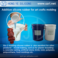 molding silicone rubber to make all kinds of molds, stone/resin/sculpture/statue/craft molds