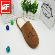 New design fashion lady casual platform soft slippers