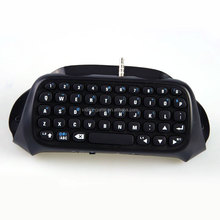 Text Input Gaming Keypad Bluetooth Mini Wireless Chatpad Message Keyboard for PS4 gamepad