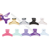 Wholesale salon butterfly hair clips plastic hair clamp clips