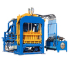 FULANG MACHINE fully automatic auto hydraulic press industrial hollow concrete cement sand brick block making moulding machine