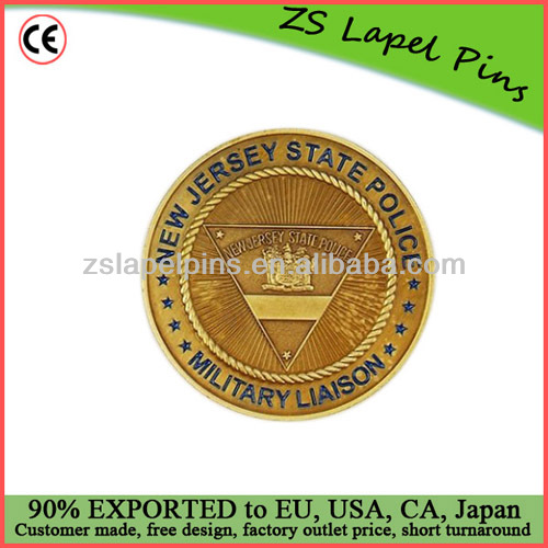 military coins/ new jersey coins/ cheap custom challenge coin