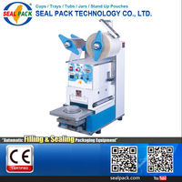 Taiwan Supplier heat plastic cup sealer plastic sealing machine price