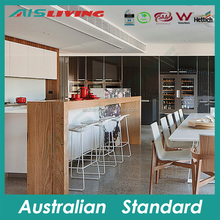 AIS KC-487 Hotel project kitchen cabinet, commercial kitchen cabinet, modern style kitchens