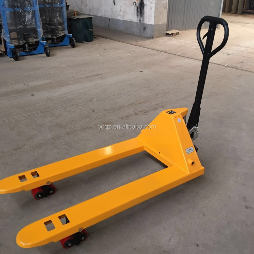 Hand Pallet Lifting Jack / Manual Stacker / Lift Manual Pallet Stacker with hand brake Factory