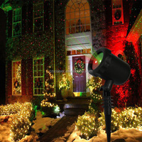 ISO 9001 laser christmas light enchanted forest with UL certificate