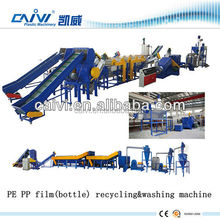 PE / PP Plastic Film Recycling / Crushing / Washing Line / woven bags recycling machine line