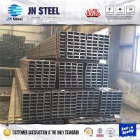 black steel square pipe shs rhs steel tubes welded or seamless iron square hollow section steel square pipe made in China