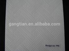 Brand new pvc laminated gypsum board for wholesales