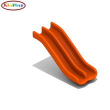 KINPLAY brand double wave slide child playground accessory amusement kids playground accessory