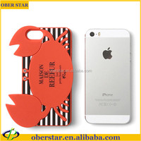 2014 Newest 3D Animal Sex Girl Mobile Phone Silicone Cases Japan Cover For iPhone 5S With Free Screen Guard