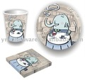 Paper Napkin Cups And Plates Kids Birthday Party Supplies