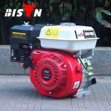 BISON(CHINA) Gasoline Engine With Best Parts Strong Power 6.5HP Air Cooled Good Petrol Engine 168F-1