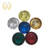 Round glass reflector embedded pavement marker road stud cat eye